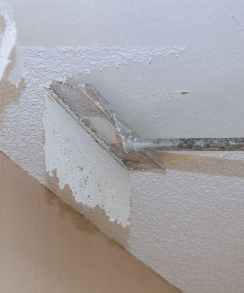 Popcorn Ceiling Wall Removal